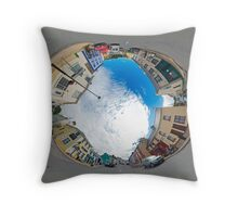 Kilcar Crossroads - Sky in Throw Pillow
