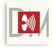 Depeche Mode - Music For The Masses Logo Canvas Print