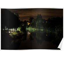 River Severn by Night Poster