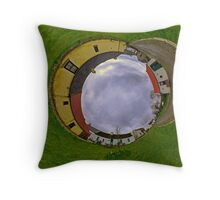 Hanna's Close, County Down (Sky In) Throw Pillow