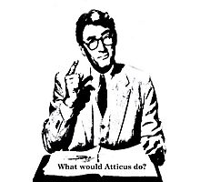 What would Atticus do? Photographic Print