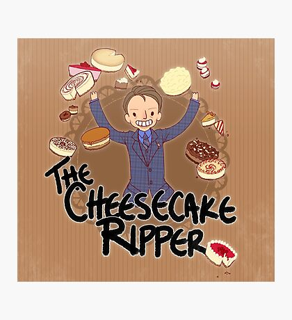 The Cheesecake Ripper Photographic Print