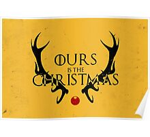 Ours Is The Christmas Poster