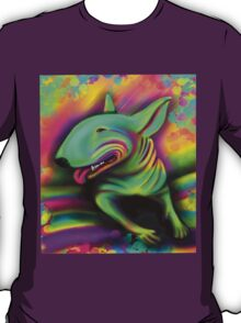 English Bull Terrier Colour Splash  T-Shirt