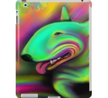 English Bull Terrier Colour Splash  iPad Case/Skin