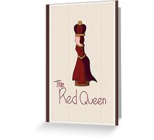 The Red Queen Greeting Card