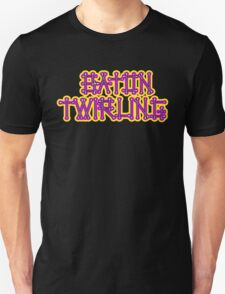 Baton Twirling Design T-Shirt