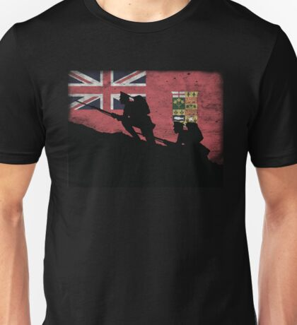 Over The Top! Canada Red Ensign Unisex T-Shirt
