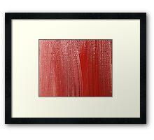 Russet Shades Framed Print