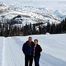 Julie and Byron in the US Rocky Mountains. by barnsis