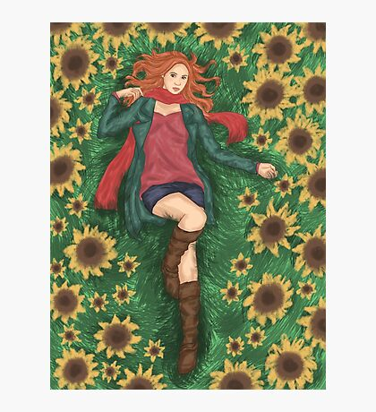 For Amy Pond Photographic Print