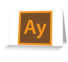 Ay Greeting Card