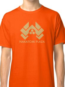 A distressed version of the Nakatomi Plaza symbol Classic T-Shirt
