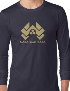A distressed version of the Nakatomi Plaza symbol Long Sleeve T-Shirt