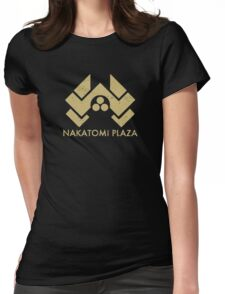 A distressed version of the Nakatomi Plaza symbol Womens Fitted T-Shirt