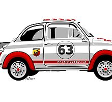 Racing Fiat Abarth 595 by car2oonz