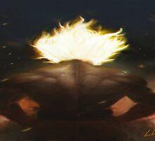 Goku's Aesthetic Back by BubbaDesigns