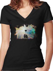 Star Children Women's Fitted V-Neck T-Shirt