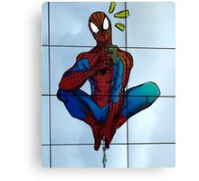 Spidey Selfie  Canvas Print
