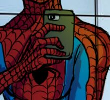 Spidey Selfie  Sticker