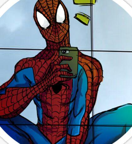 Spidey Selfie  Sticker