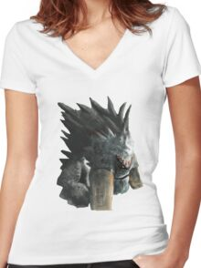 How to train your dragon - Alpha Women's Fitted V-Neck T-Shirt