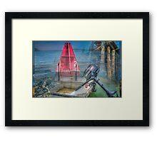 MARINE LAYER Framed Print