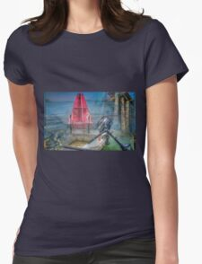 MARINE LAYER Womens Fitted T-Shirt