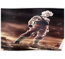 Super Saiyan Goku 3d Poster
