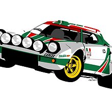 Lancia Stratos by car2oonz