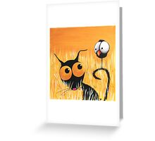 The Tall Grass Greeting Card