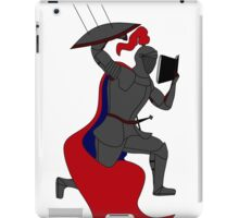 The Knowledgable Knight iPad Case/Skin