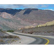 Seven Colours Mountains, Argentina Photographic Print