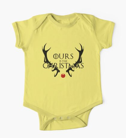 Ours Is The Christmas One Piece - Short Sleeve