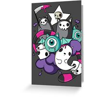 death dice Greeting Card