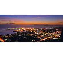 Sunrise over Townsville from Castle Hill Photographic Print