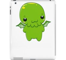 chibi cthulhu - the green monster iPad Case/Skin