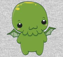 chibi cthulhu - the green monster One Piece - Long Sleeve