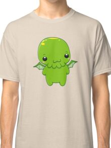 chibi cthulhu - the green monster Classic T-Shirt