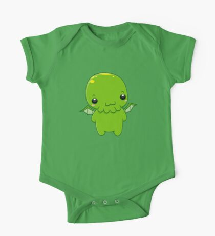 chibi cthulhu - the green monster One Piece - Short Sleeve