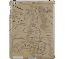 Map of Middle-earth iPad Case/Skin