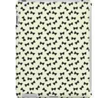 Many (tiny!) Bow Ties- Black iPad Case/Skin