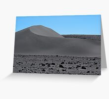 Grey Sand Dune  Greeting Card