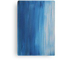 Blue tints Canvas Print