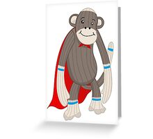 super sock Greeting Card