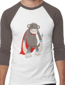 super sock Men's Baseball ¾ T-Shirt