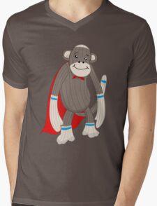 super sock Mens V-Neck T-Shirt