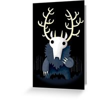 Wendigo Greeting Card