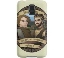 Renly and Loras - Game of Thrones Samsung Galaxy Case/Skin