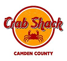 Crab Shack: Camden County Photographic Print